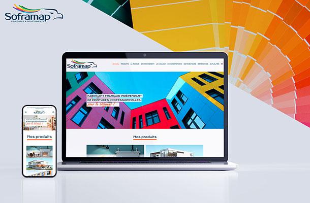 SOFRAMAP Site web